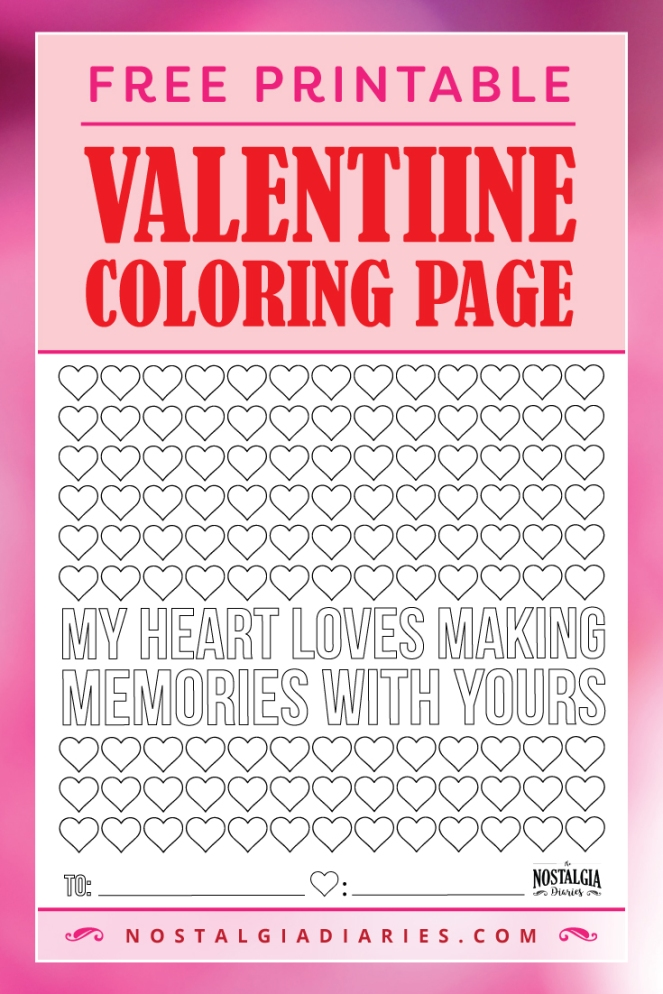 valentine coloring pages be mine - photo #50